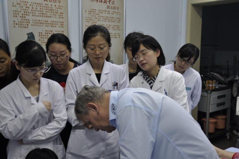Dr Wang og dr Liang